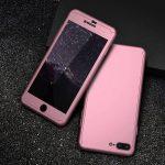 360-case-i-staklen-protektor-za-iphone-rozov