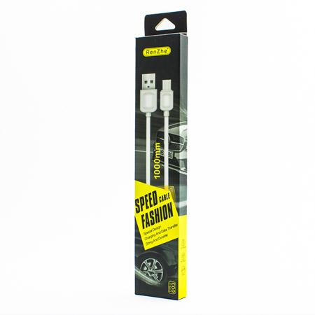 USB-kabel-Type-C-RenZhe-1-metar-byal-TopCase-1