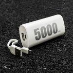 prenosima-bateriya-remax-e5-power-bank-5000-mah-byala-topcase